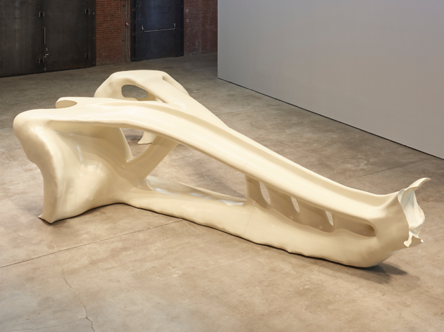 Jean-Luc Moulène, More or Less Bone (Formal Topological Optimization), 2018–2019