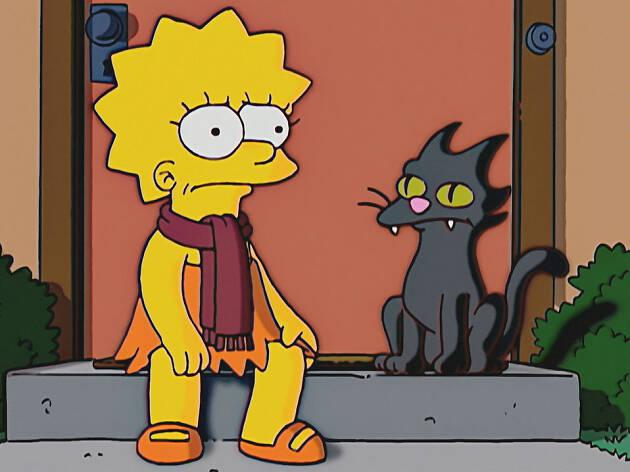 Snowball en Los Simpsons