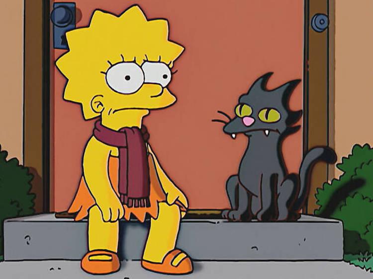 Bola de Nieve I, II, III, IV y V de Los Simpsons