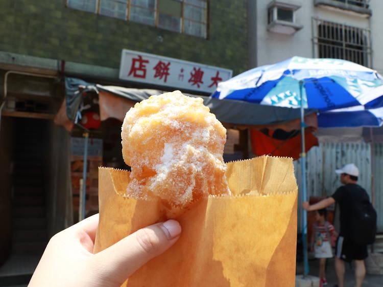 大澳餅店:鬆軟炸沙翁