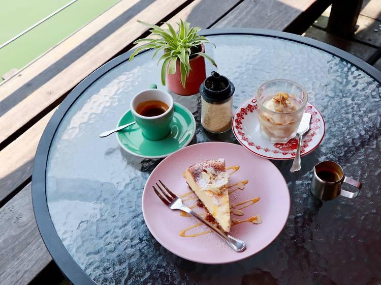 蘇廬: 放空咖啡店