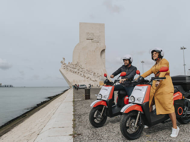 Motosharing Acciona en Lisboa