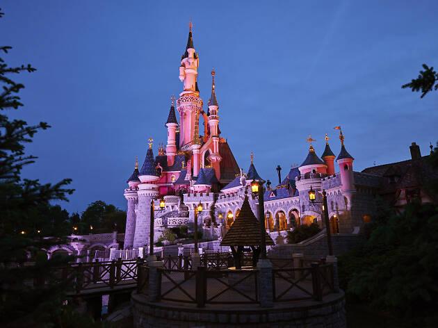Disneyland Paris Sleeping Beauty Castle