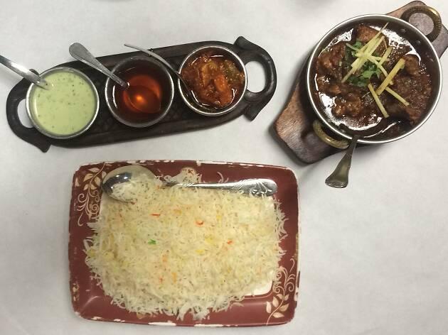 Karahi del Zeeshan Kebabish