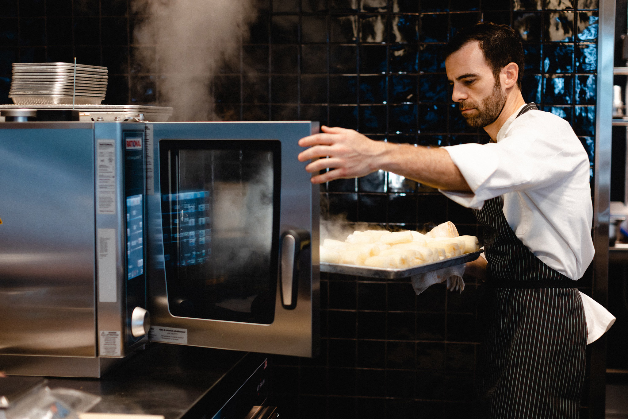 Miguel Massens takes over the Time Out Market Miami Demo Kitchen