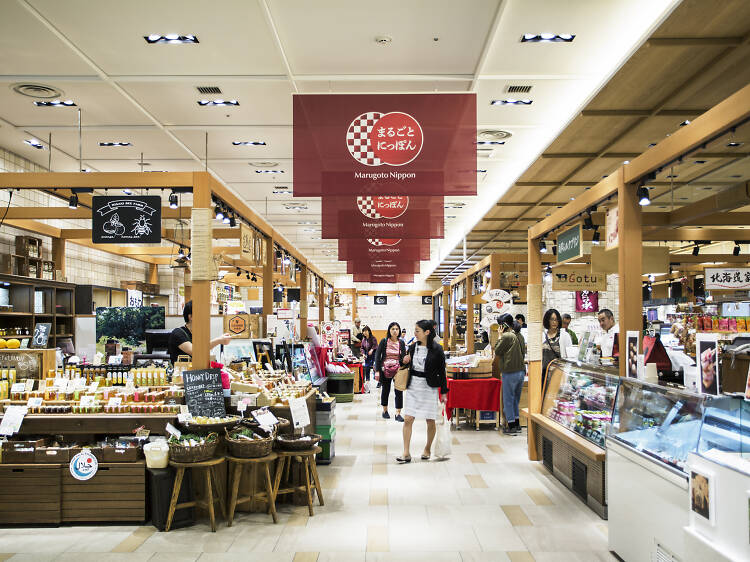 Where to shop for regional Japanese souvenirs and crafts in Tokyo