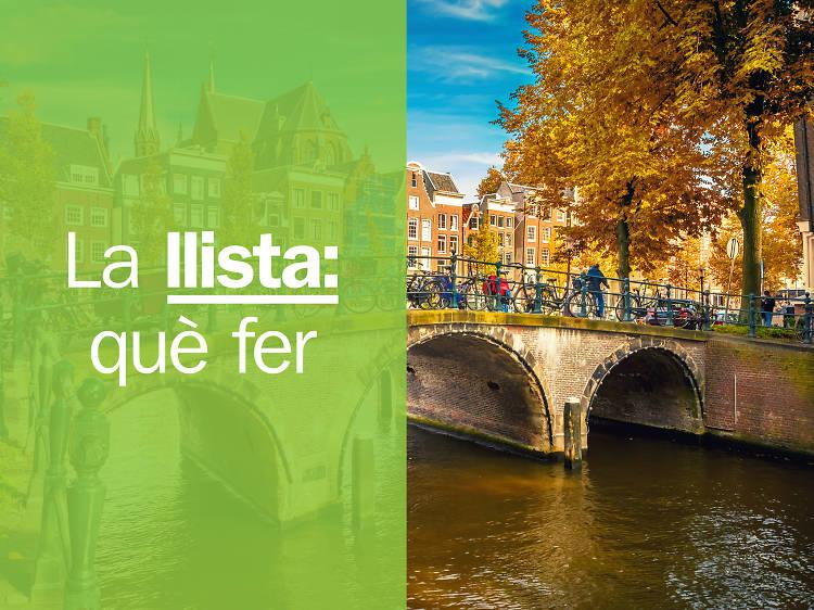 Les 21 millors coses per fer a Amsterdam