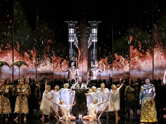 Opera Australia Aida 2019 digital productions