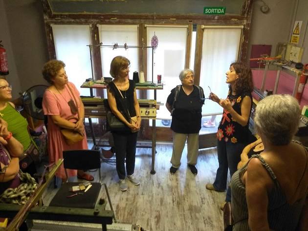 Rutes pels tallers de les creadores de Gràcia