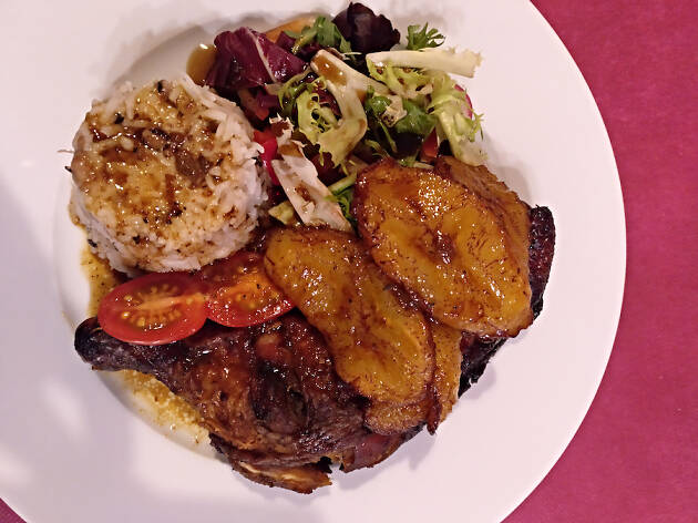 Eat Caribbean 'Jerk chicken'