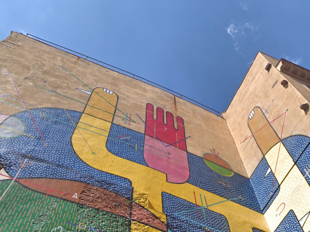 Mural de Sixe Paredes
