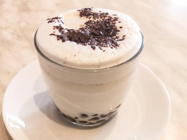 Hot chocolate at Adora Newtown