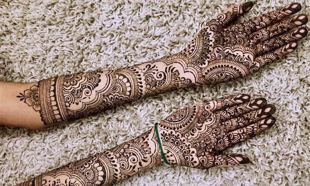 zahrabridalhenna, henna