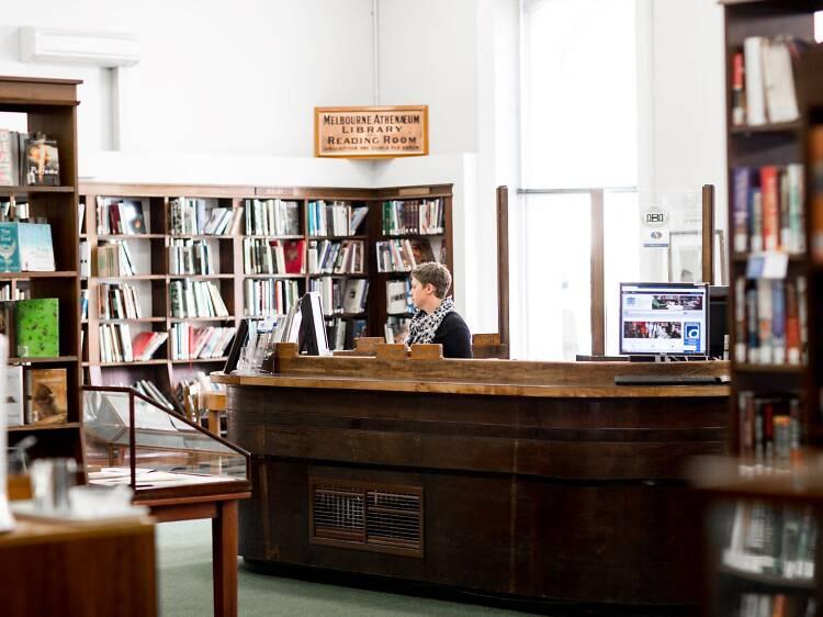 Melbourne Athenaeum Library