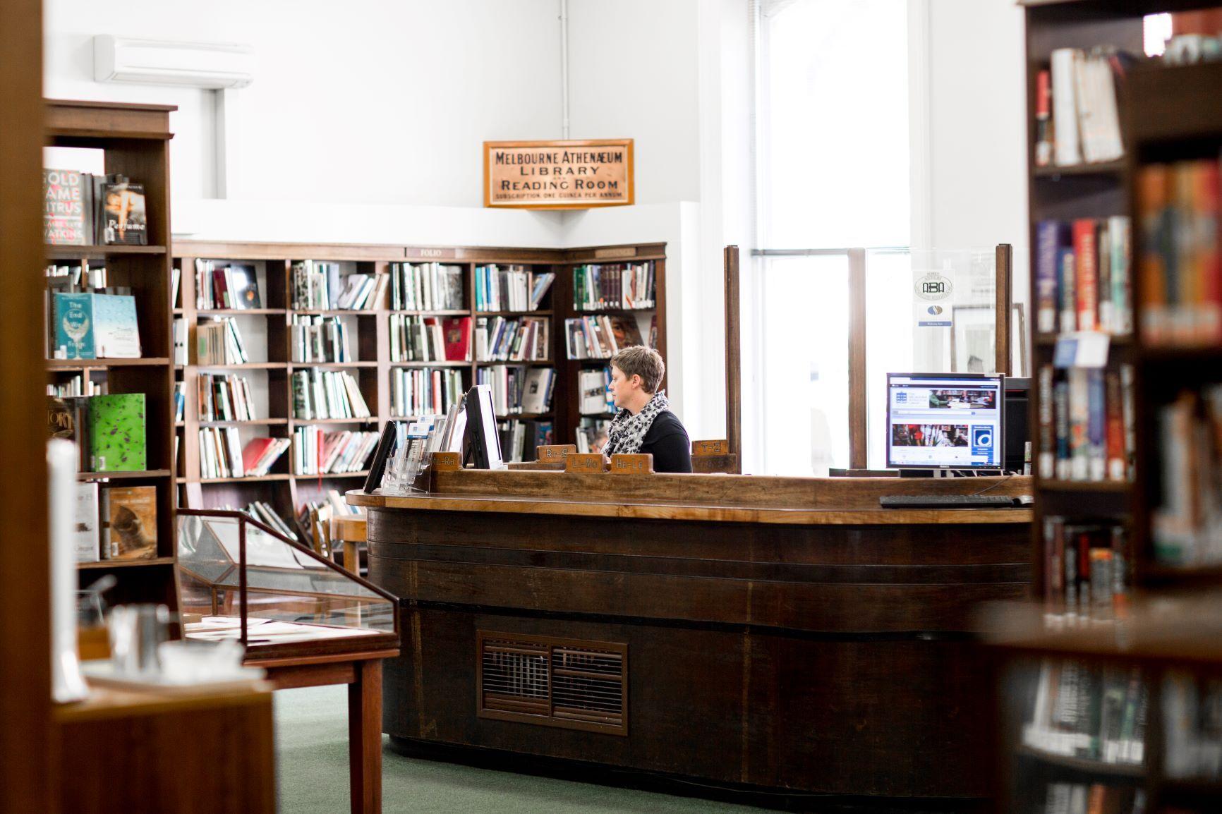 Melbourne Atheneaum Library