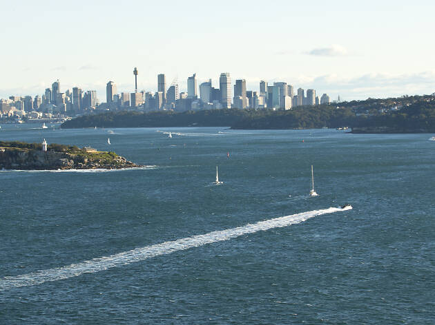 Sydney harbour from North Head