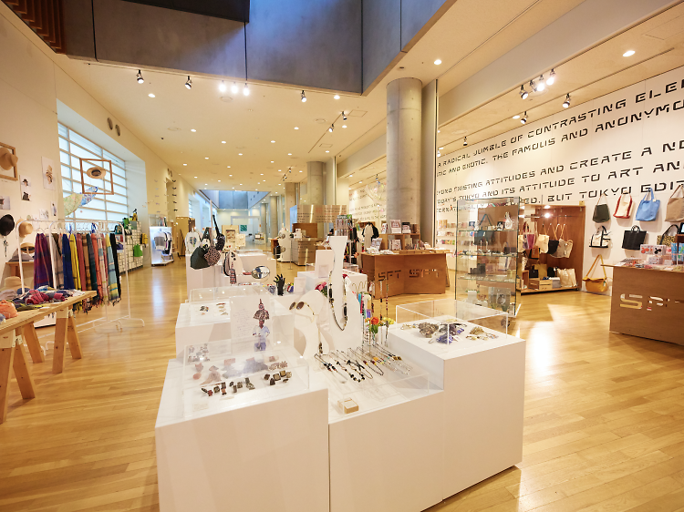 Stock up on souvenirs at The National Art Center, Tokyo