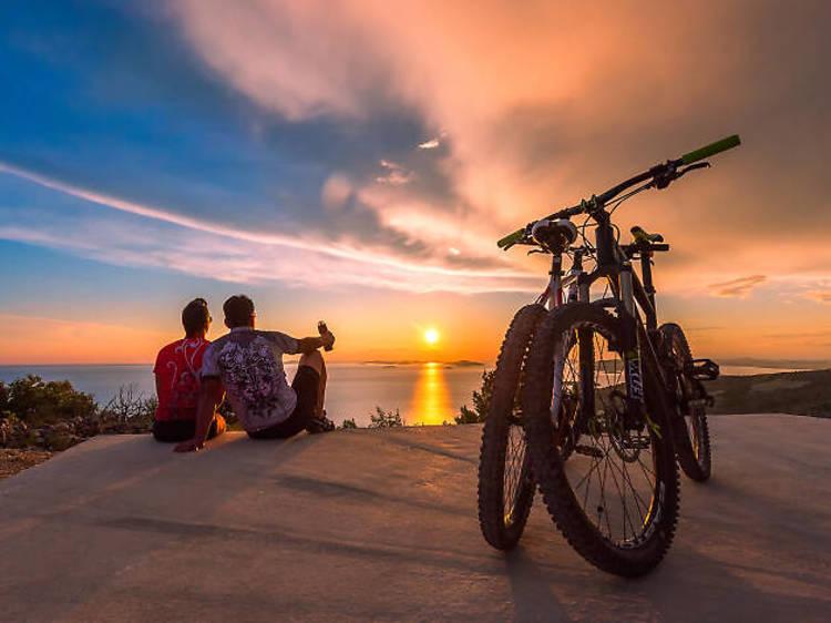 Cycle around Šibenik