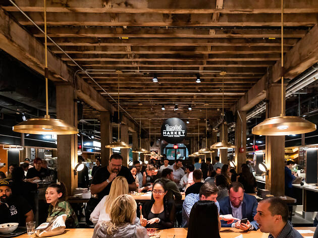 A guide to the Time Out Market New York eateries