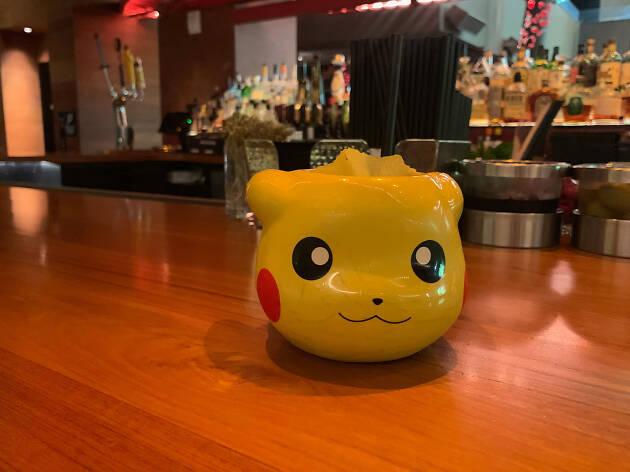 Pikachu glass at Komodo