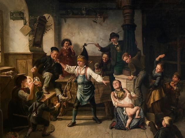 La Gallina Ciega en Tiempo de labor, juego y ocio
