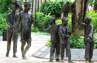 Lim Leong Seng, public art, china square