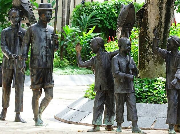 The best public art trails in Singapore