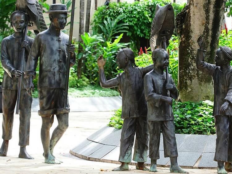 The best public art trails in Singapore