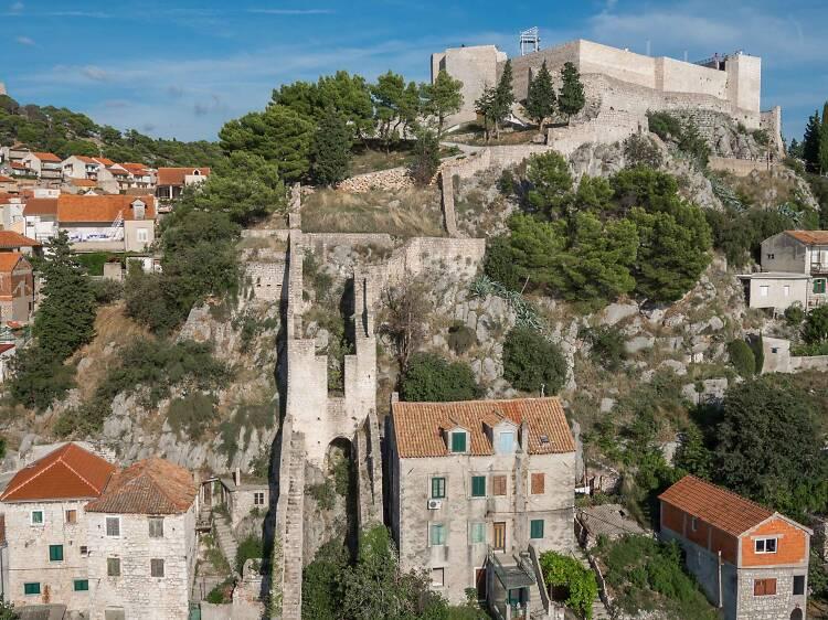 Explore Šibenik's great fortresses