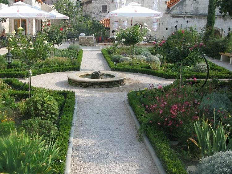 Go green at the Medieval Mediterranean Gardens