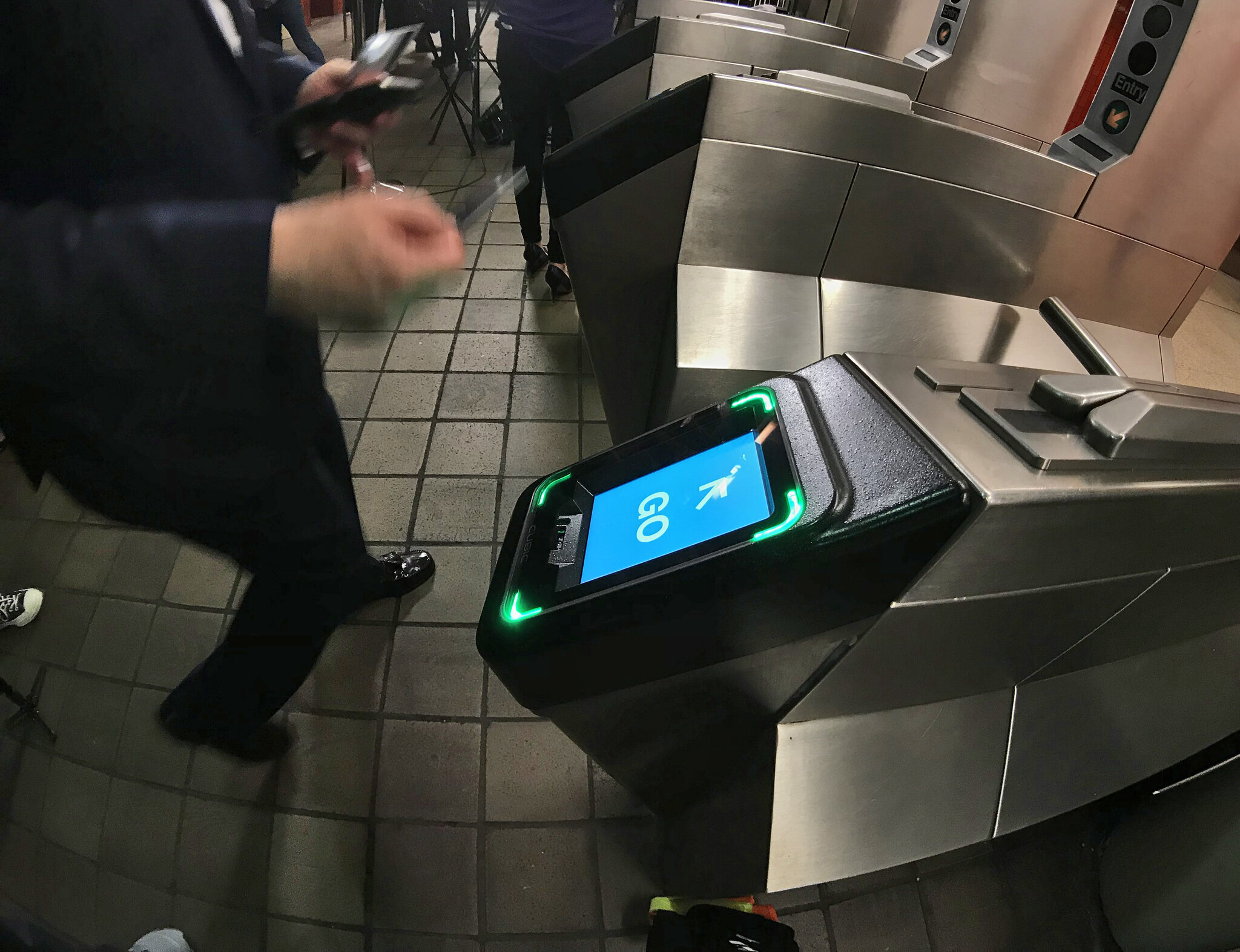 Most NYC subway stations now have OMNY scanners to replace MetroCards