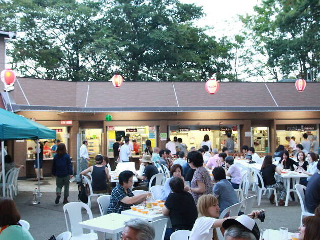 Mt Takao Beer Festival