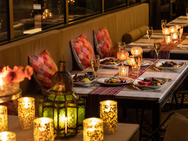 French Moroccan Style Terrace Barbecue Restaurants In Tokyo