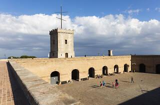 Pati d'armes Castell Montjuïc