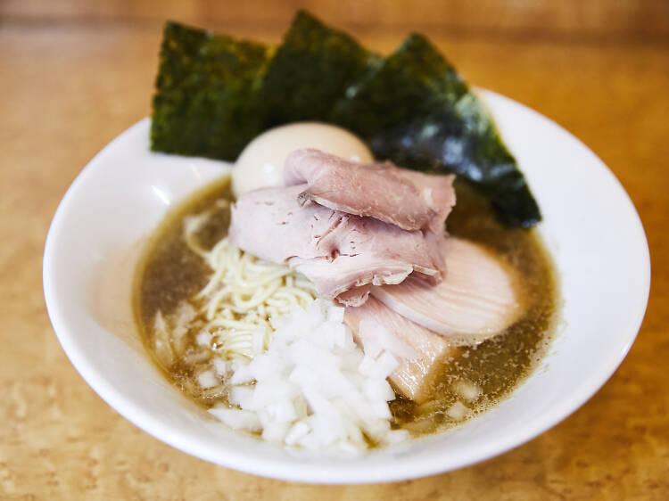 東京、煮干しラーメン20選