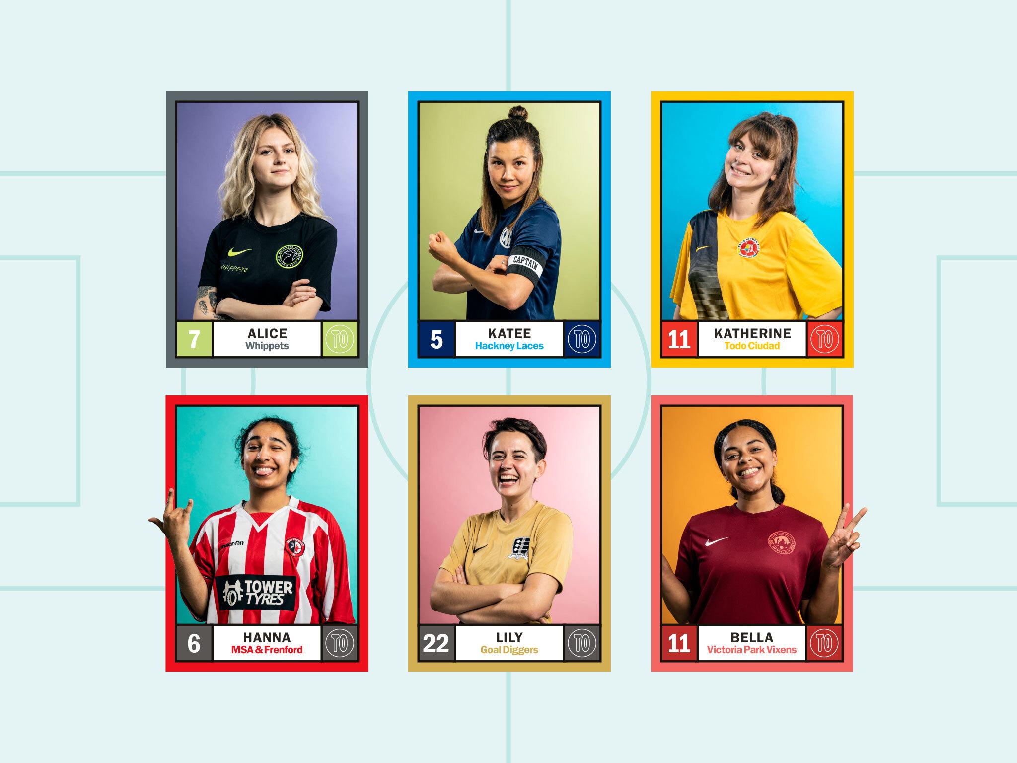 Find a women's football team