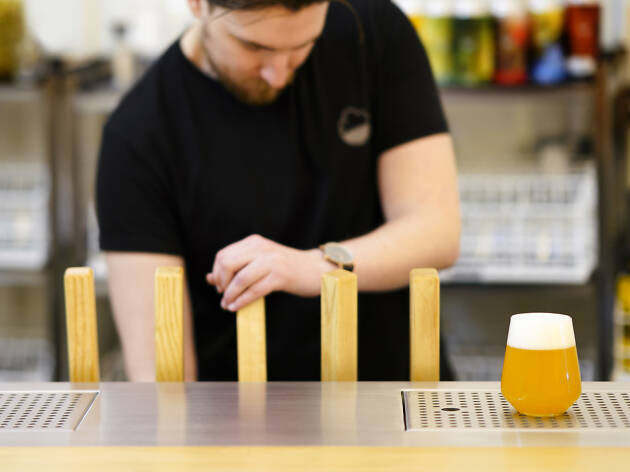 best london bridge bars, cloudwater tap room