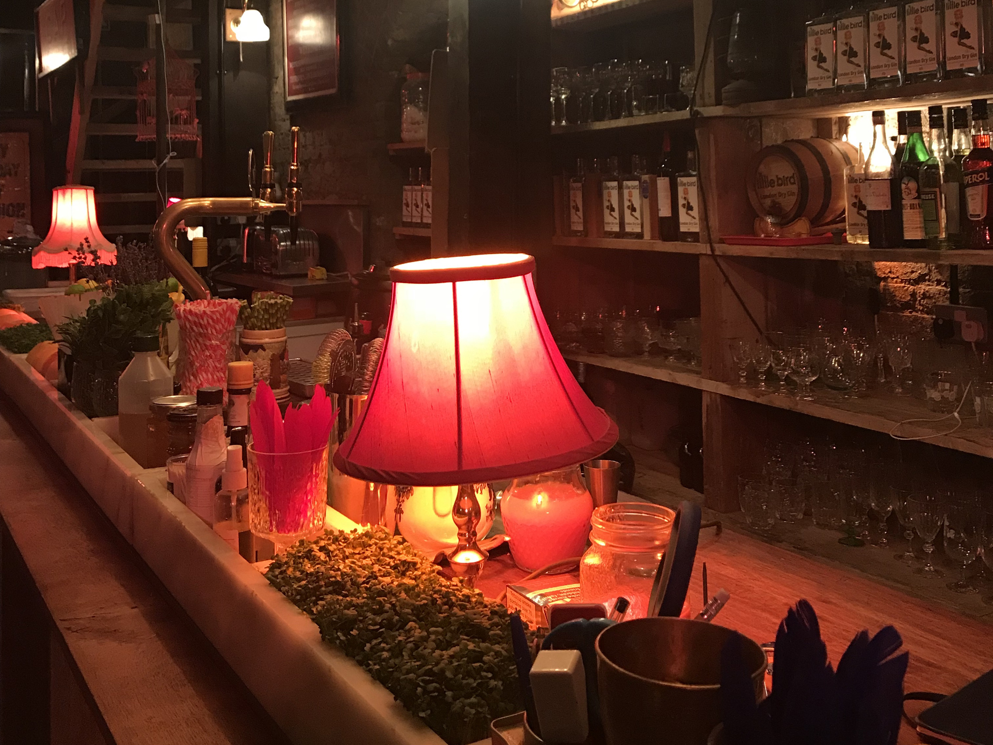 best london bridge bars, little bird gin residency