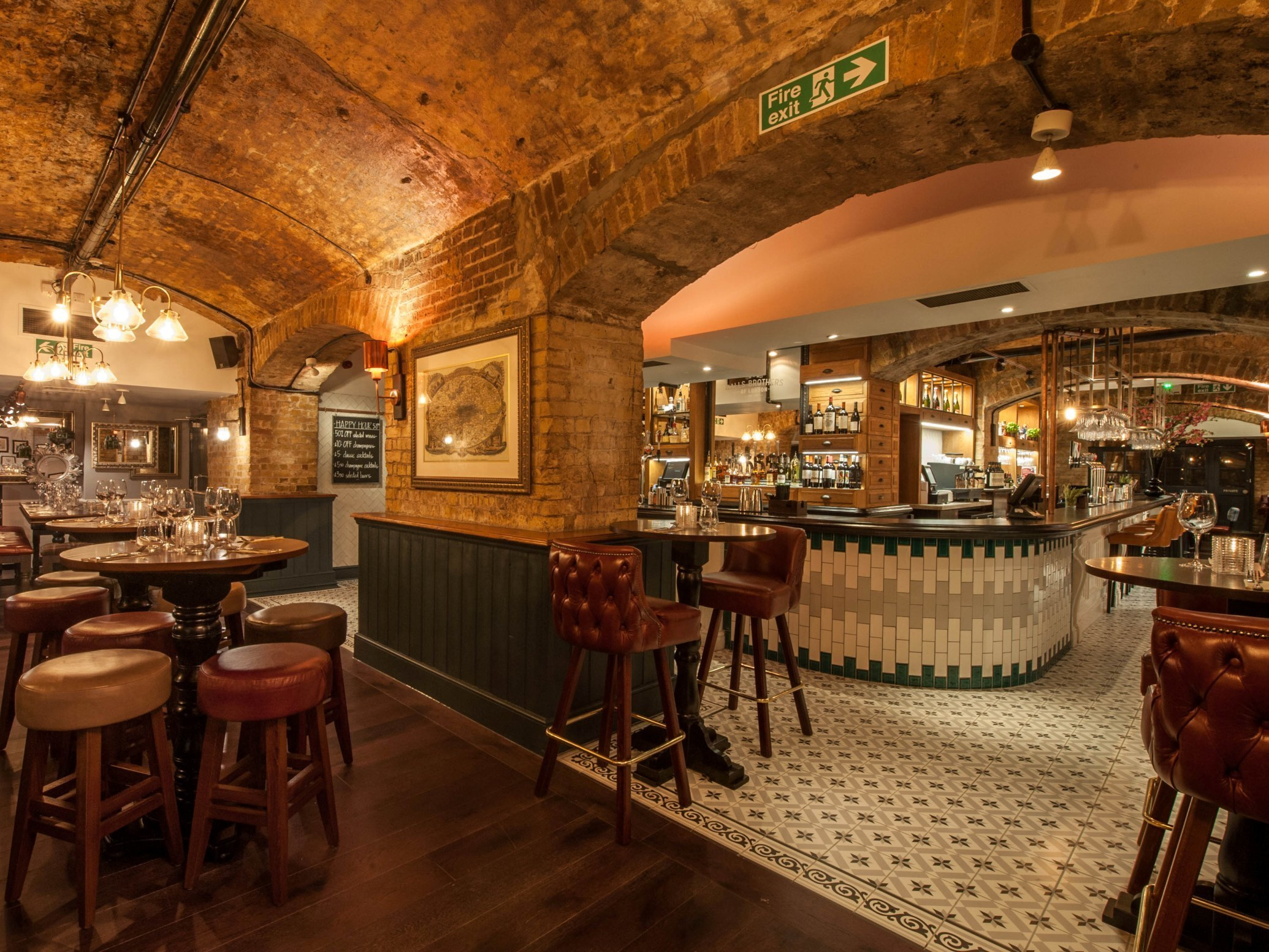best london bridge bars, balls brothers