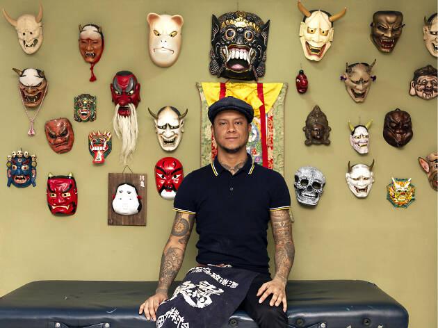 Moroko Gon y el arte del tatuaje japonés