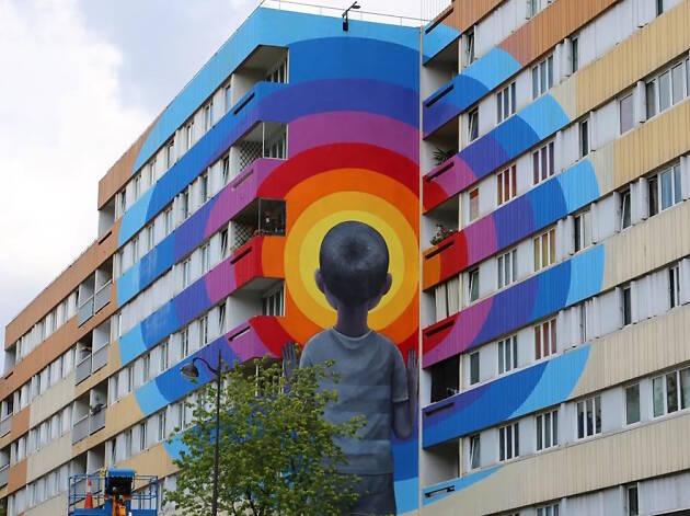 Inauguration de Boulevard 13, le parcours street art à l'allure de musée à ciel ouvert