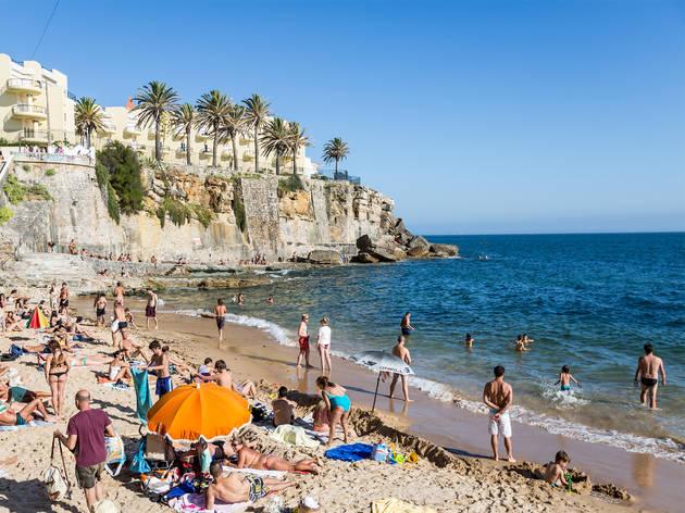 Praia, Estoril, Praia da Azarujinha