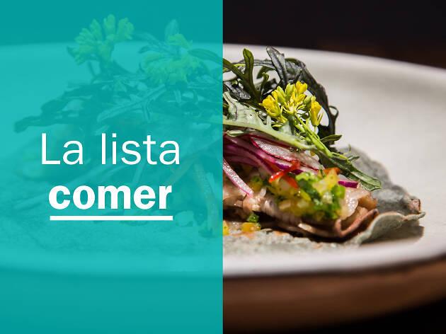 Los 50 mejores restaurantes en la CDMX