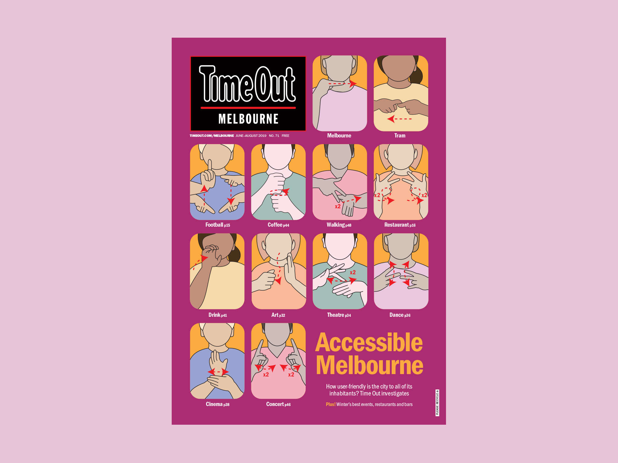 Time Out Melbourne issue 71