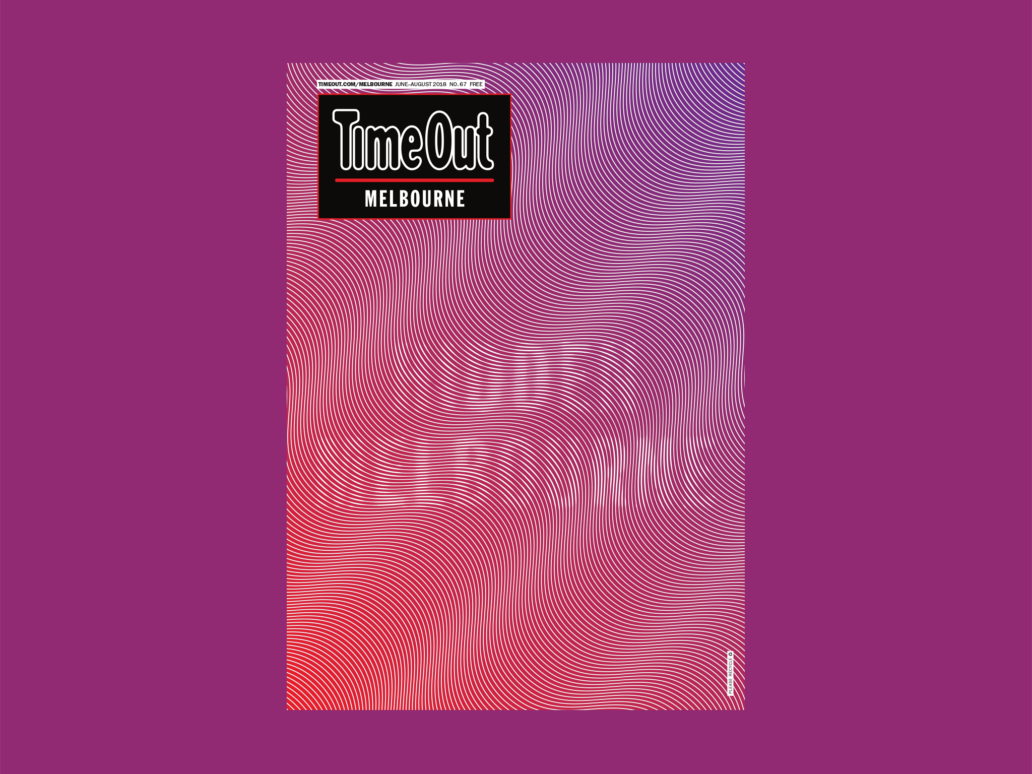 Time Out Melbourne issue 67
