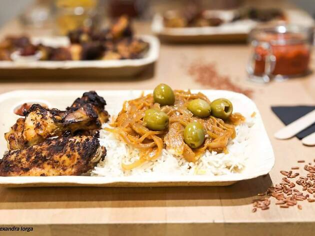 © Alexandra Lorga / Osè African Cuisine