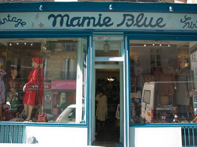 Mamie Blue vintage clothes