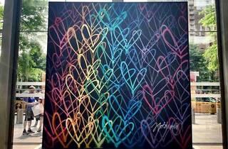 """""""LoveWall"""" Installation"""