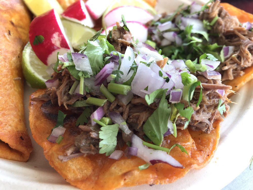 Teddy's Red Tacos birria tacos in Los Angeles