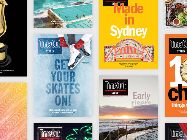 Time Out Sydney's most recent magazine covers